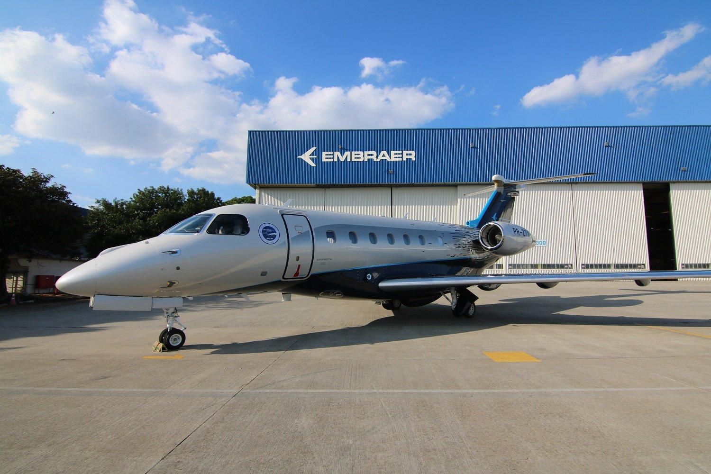 Embraer consolida su negocio de aviación ejecutiva