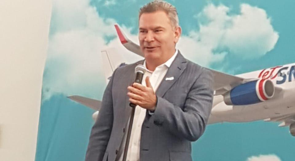 Estuardo Ortiz, CEO de JetSMART: «Nuestro compromiso con Argentina es de largo plazo»