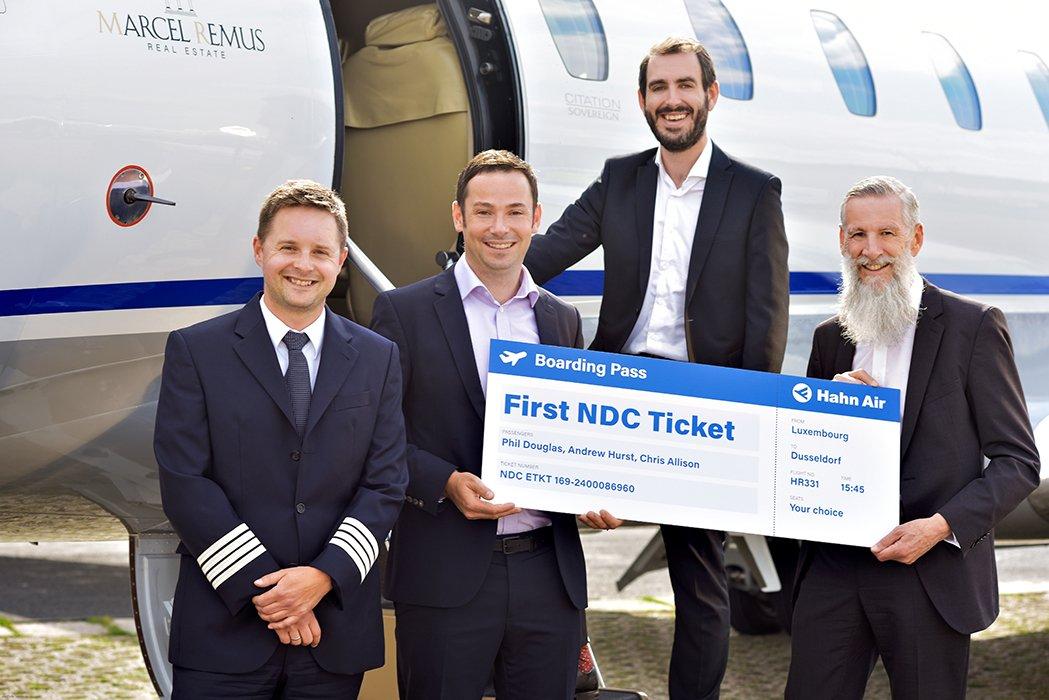Hahn Air presenta la plataforma NDC y emite los primeros billetes NDC