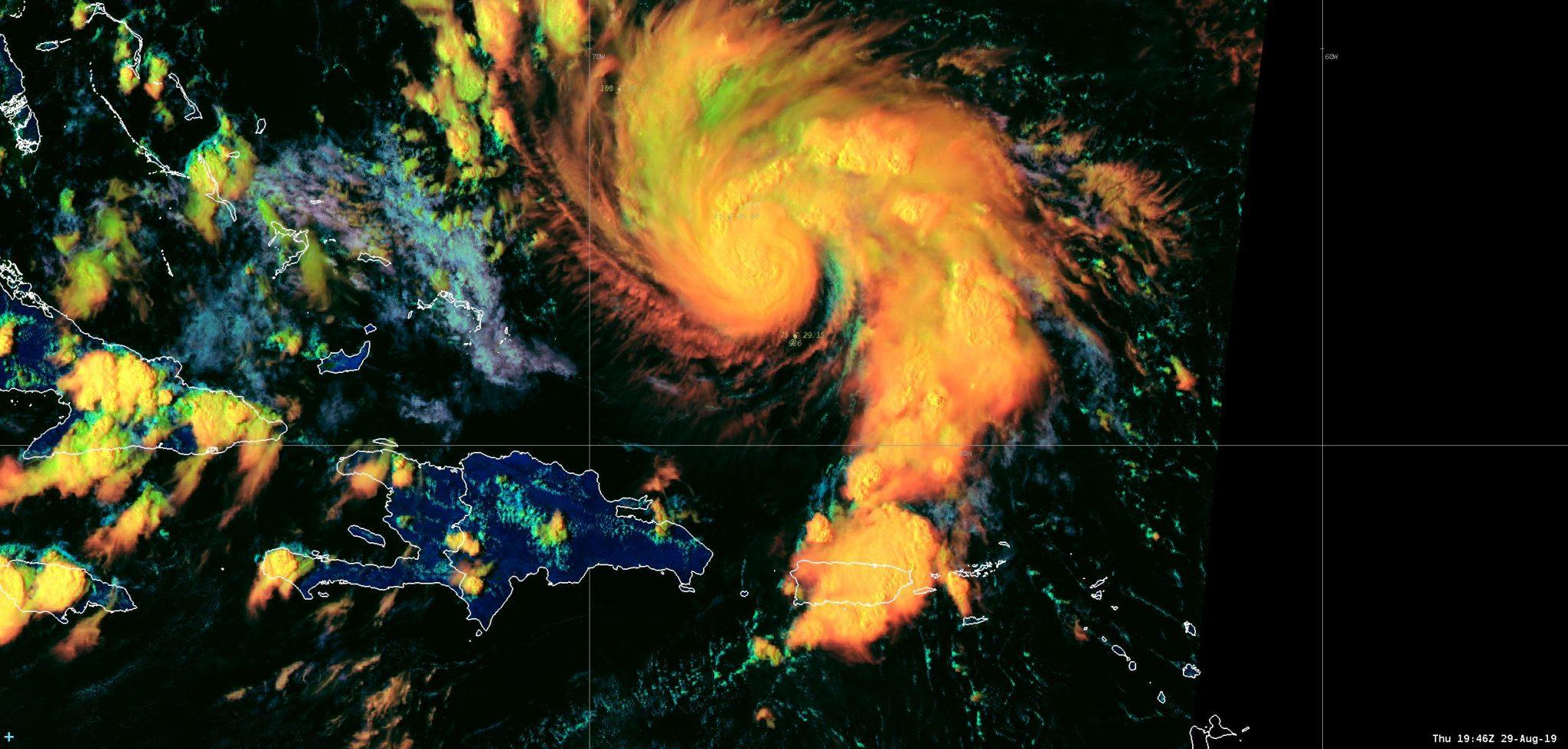 Huracán Dorian perjudica los viajes del Día del Trabajo a Florida