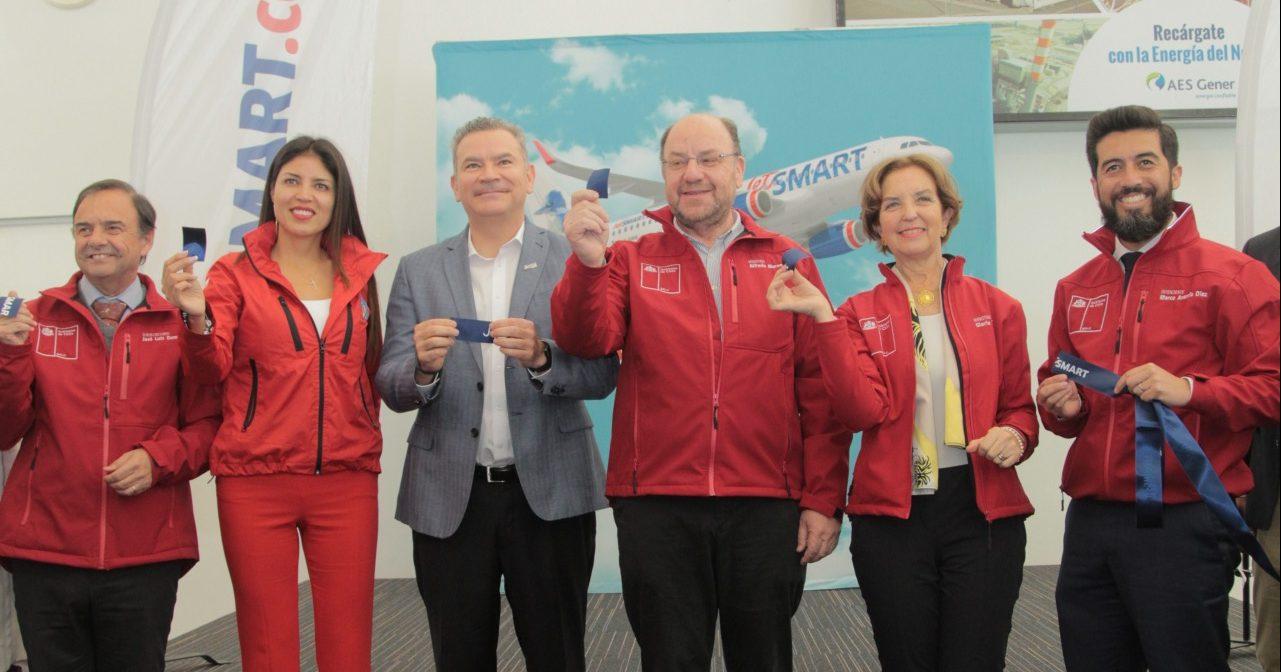 Chile: JetSMART anuncia base de operaciones en Antofagasta y nuevas rutas