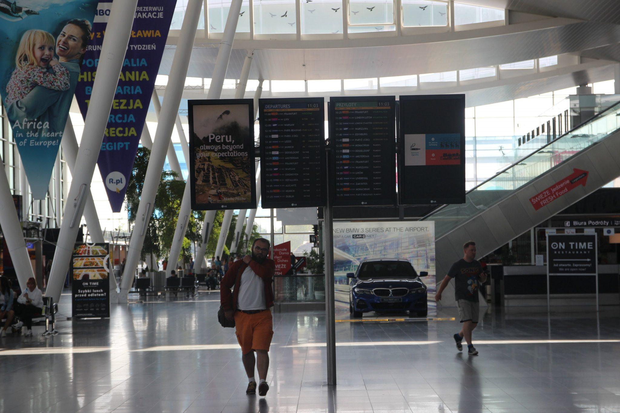 Campaña promocional sobre Perú se realiza en aeropuertos de Polonia
