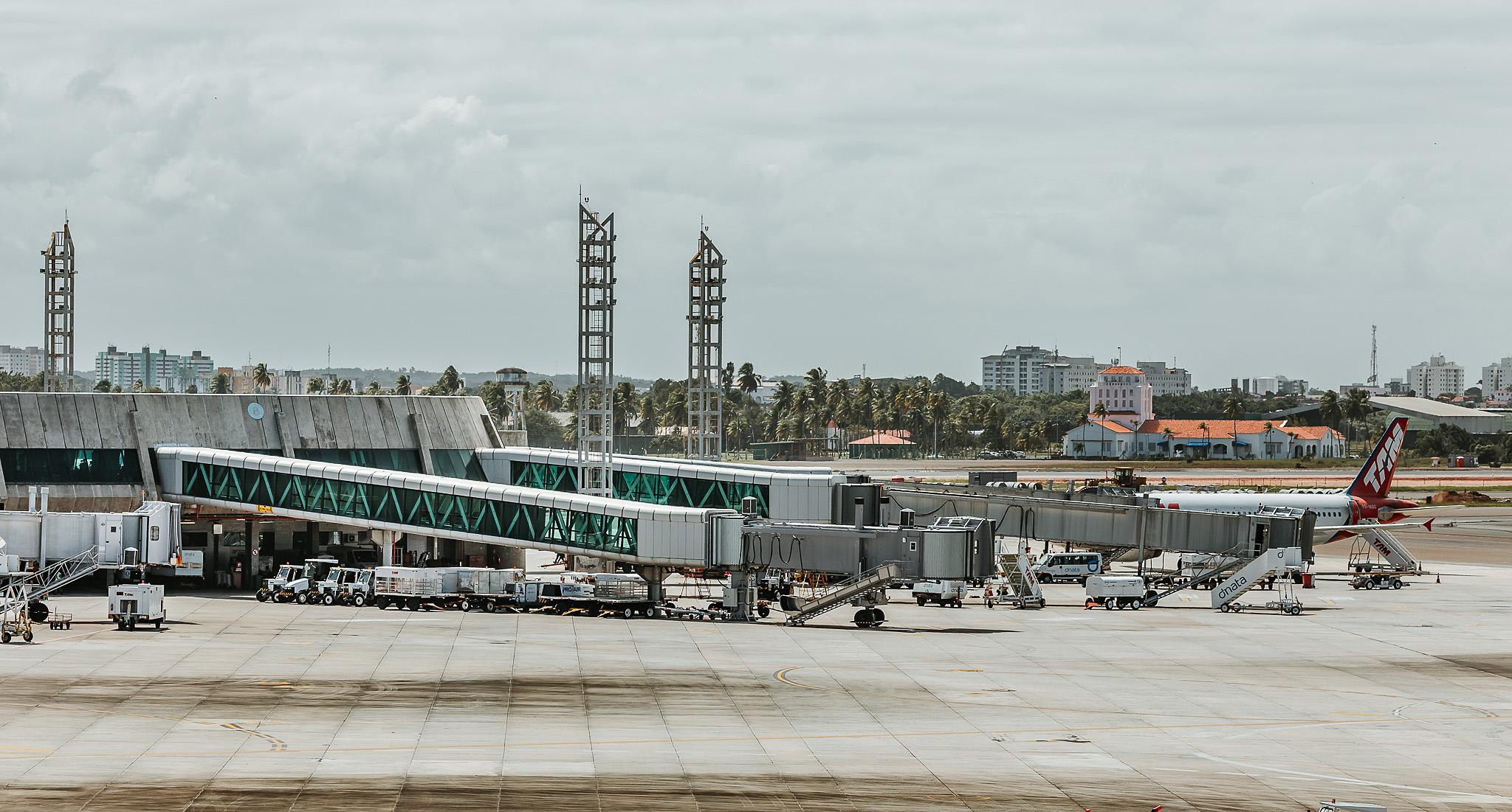 Obras de melhoria no ar-condicionado chegam ao desembarque do Salvador Bahia Airport