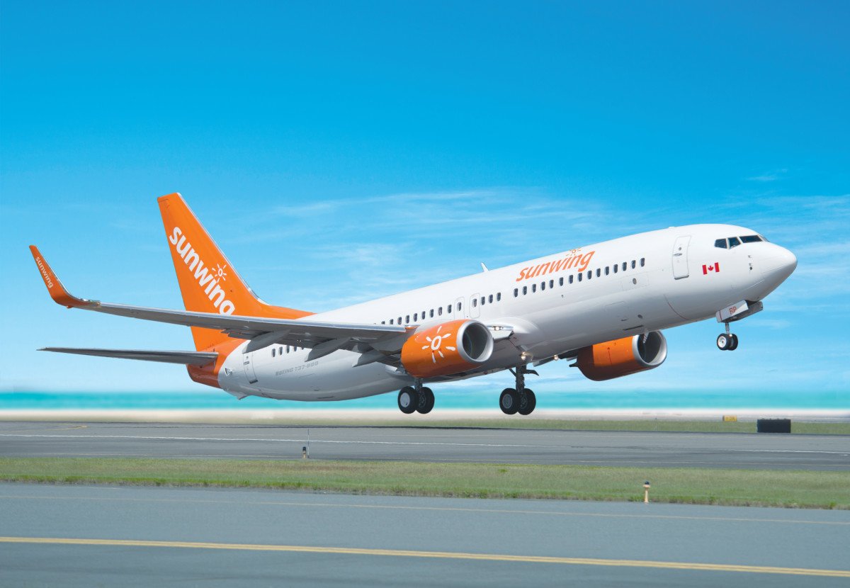 Sunwing to ground 737 MAX 8s until spring 2020