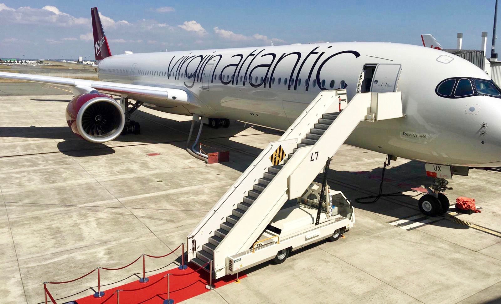 Un A350 de Virgin Atlantic estrena la banda ancha en vuelo GX Aviation de Inmarsat