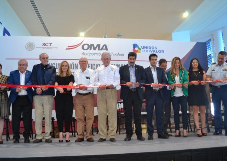 México: Concluyen ampliación de Aeropuerto de Chihuahua