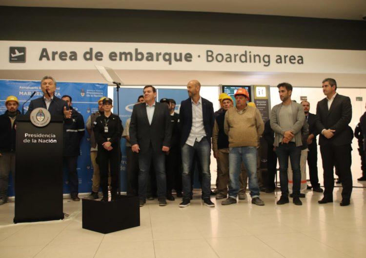 Argentina: Inauguraron la nueva terminal del aeropuerto de Mar del Plata