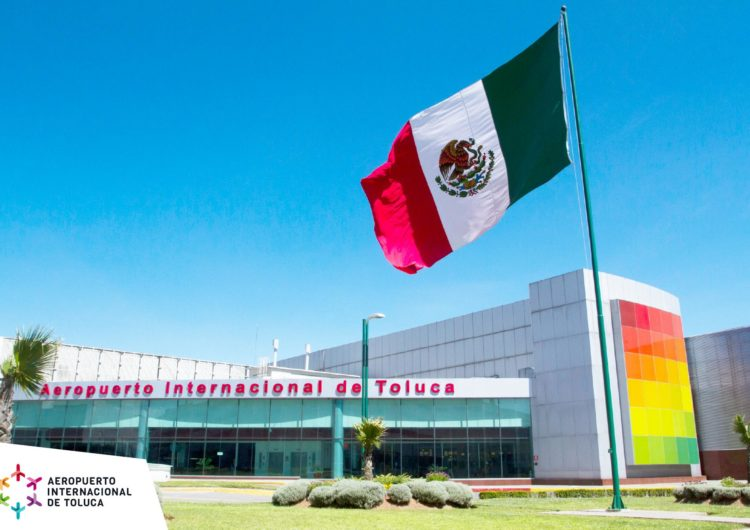 México: Preparan estrategia para reactivar aeropuerto de Toluca