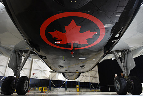 Air Canada cargo revenues stronger than passenger for the first time