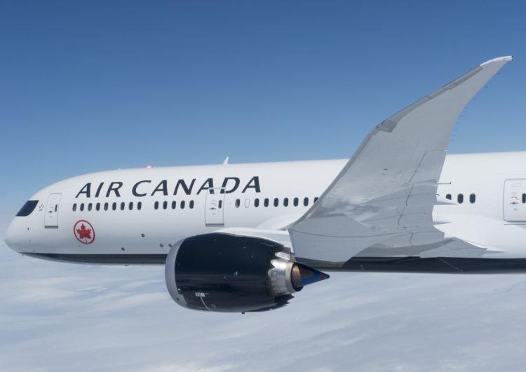 Air Canada cumple 15 años operando en Perú