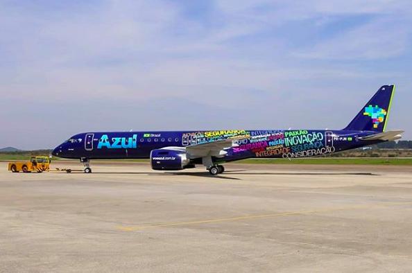 Azul volará entre Montevideo y Florianópolis en verano