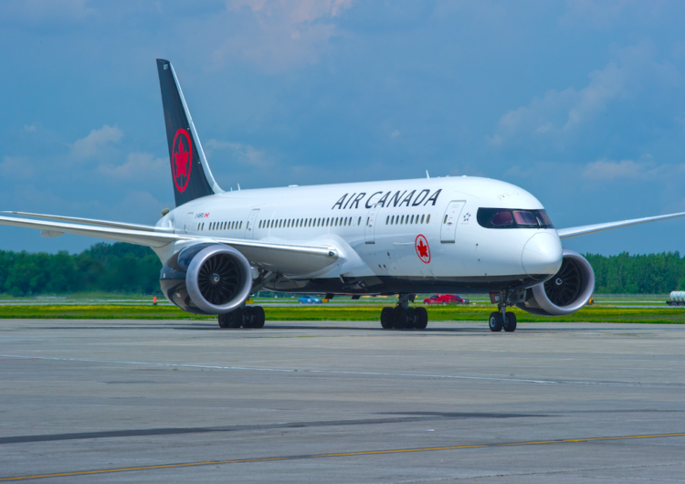 Air Canada pondrá en operaciones el famoso Boeing 787 Dreamliner para su ruta Ottawa-Londres