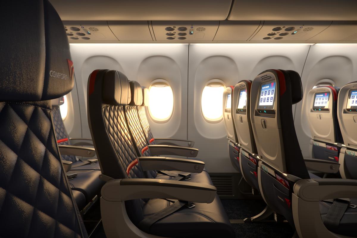 Pasajeros que viajen desde Atlanta a Santiago de Chile disfrutarán de los beneficios de Delta Comfort+