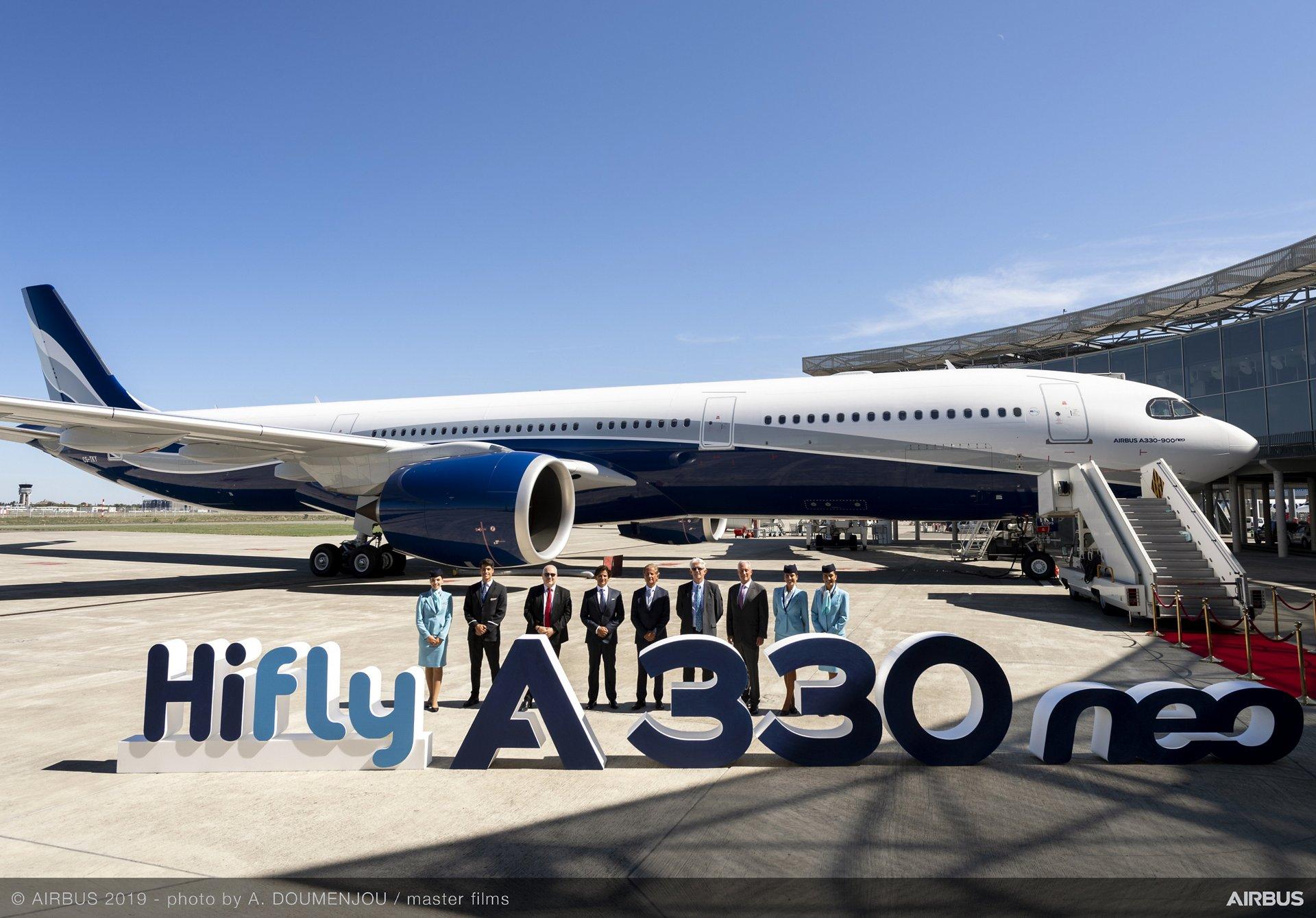 Hi Fly recibió su primer Airbus A330neo
