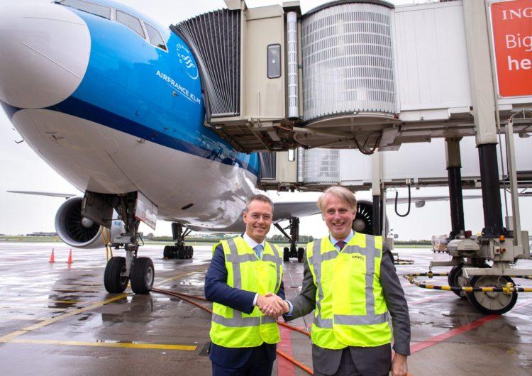 KLM contará con el primer puente de pasajeros completamente automático de Europa