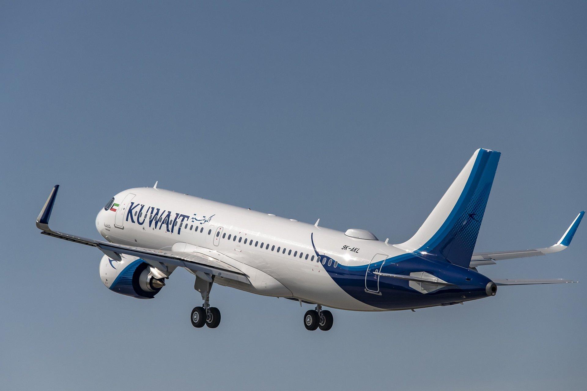 Kuwait Airways recibió el primero de los 15 aviones A320neo