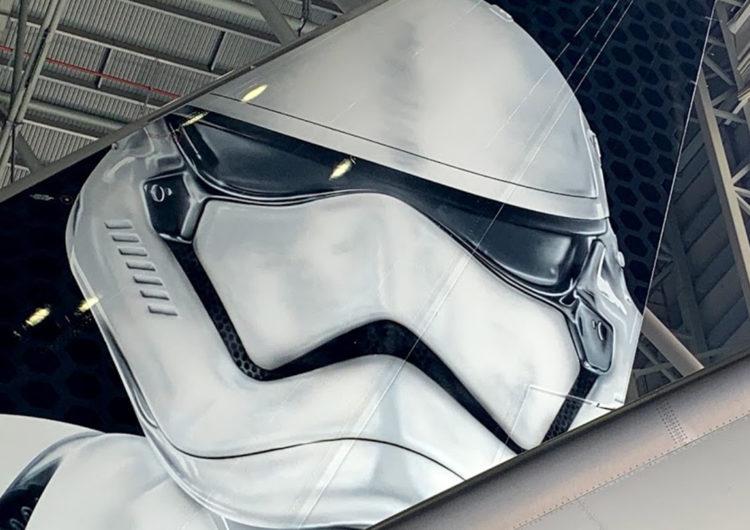 Otra vez Star Wars conquista a las aerolíneas