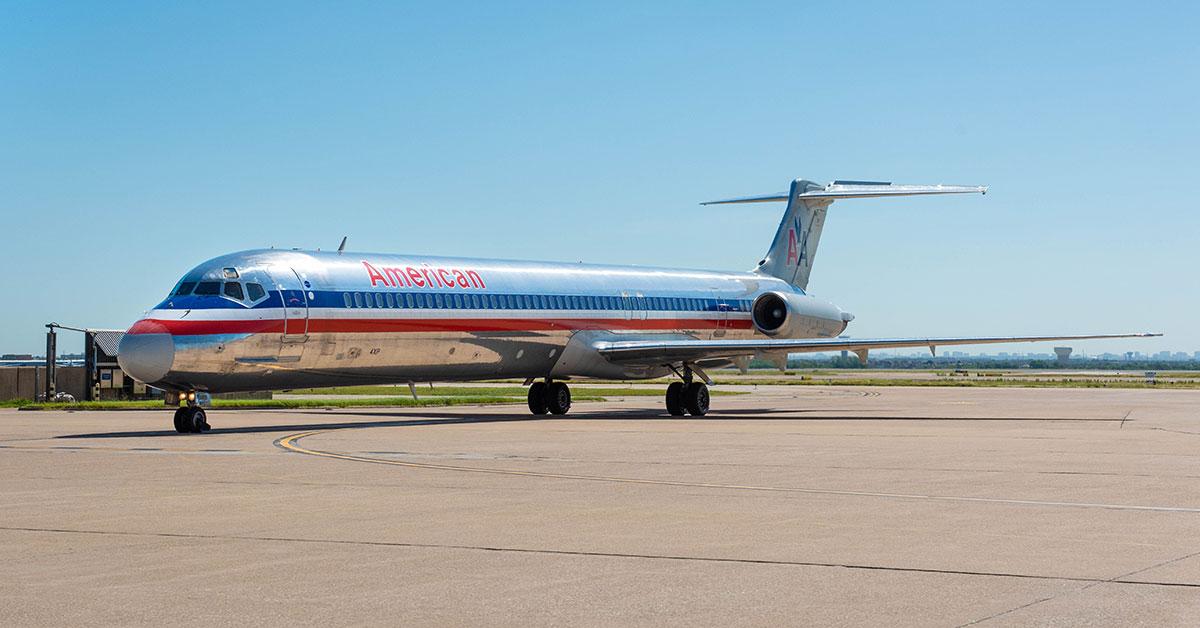 American vuela por última vez con el mítico Mc Donnell-Douglas MD-80
