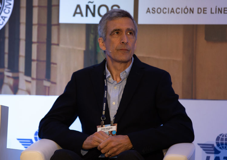 Pedro Heilbron calcula que la industria de la aviación tardará tres años en recuperarse de la pandemia