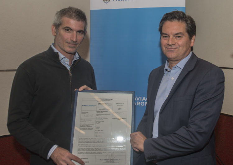 Aeropuerto de Mendoza integra el grupo de los aeropuertos certificados a nivel regional