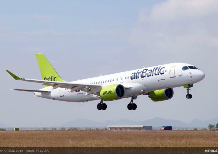 AirBaltic retrasa las entregas de aviones A220 para 2024