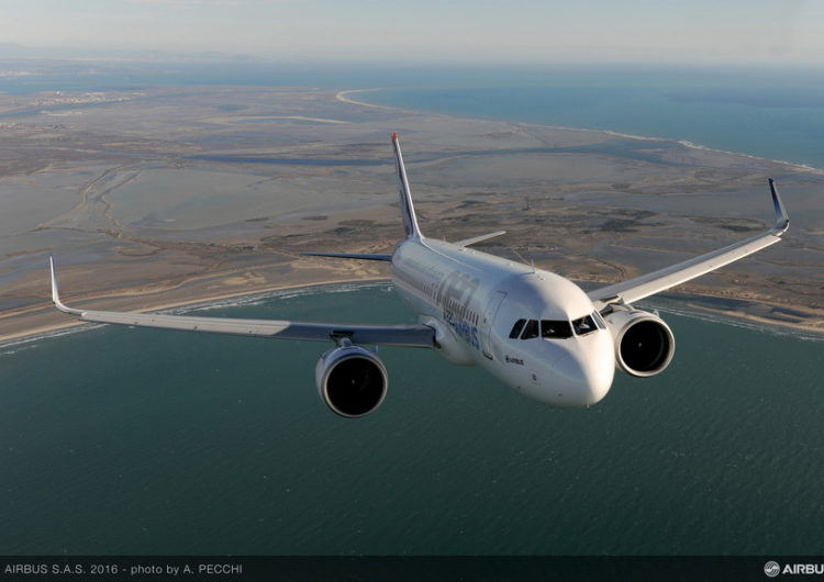 La familia de aviones A320 fue la más usada en 2019