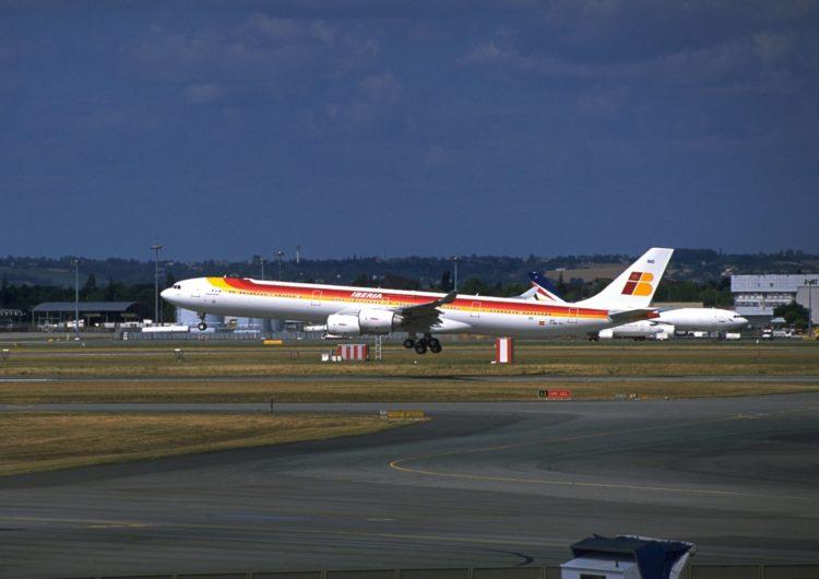 Retira Iberia su flota A340