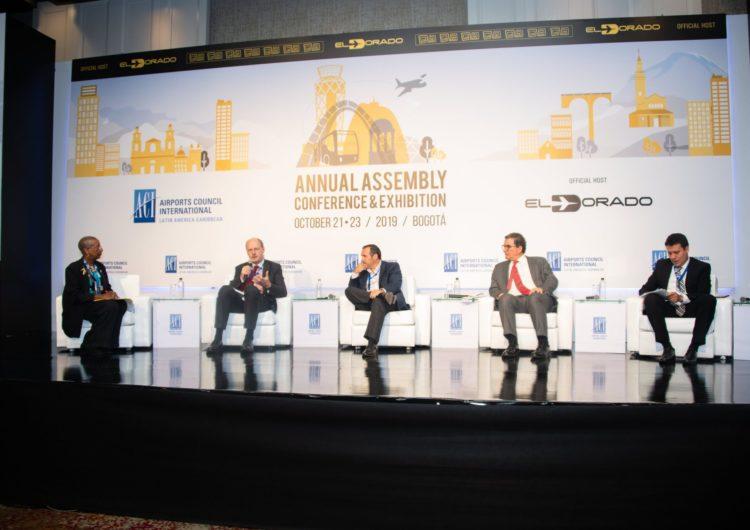 Consejo Internacional de Aeropuertos de América Latina y el Caribe se reunió en Bogotá