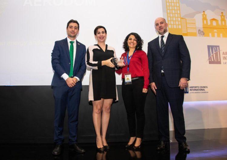 Aerodom recibe reconocimiento internacional sobre sostenibilidad
