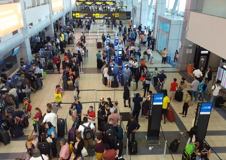 Entrada de pasajeros por Tocumen crece 5,5%