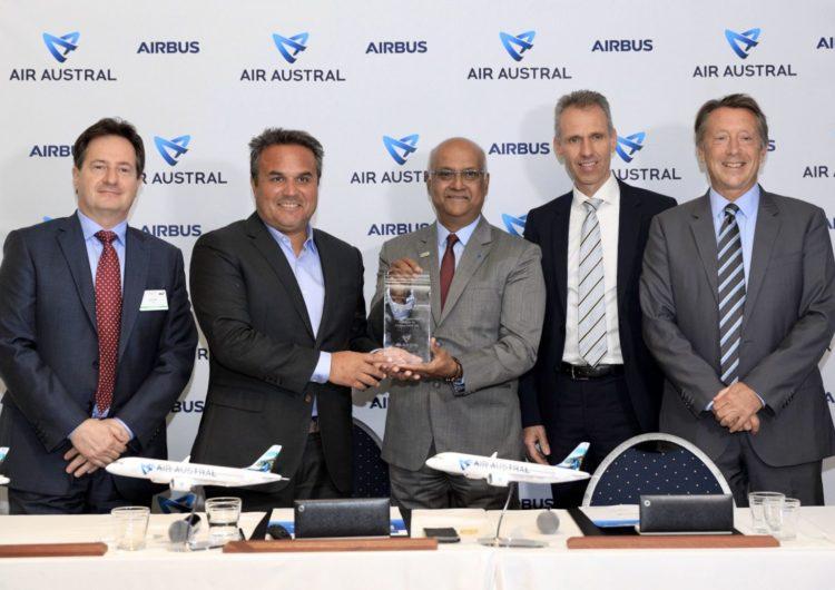 Air Austral encarga a Airbus tres aviones A220