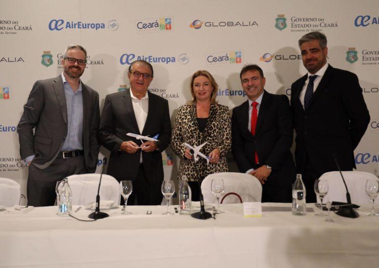 Air Europa comenzará a operar en diciembre su nueva ruta a Fortaleza, cuarto destino en Brasil