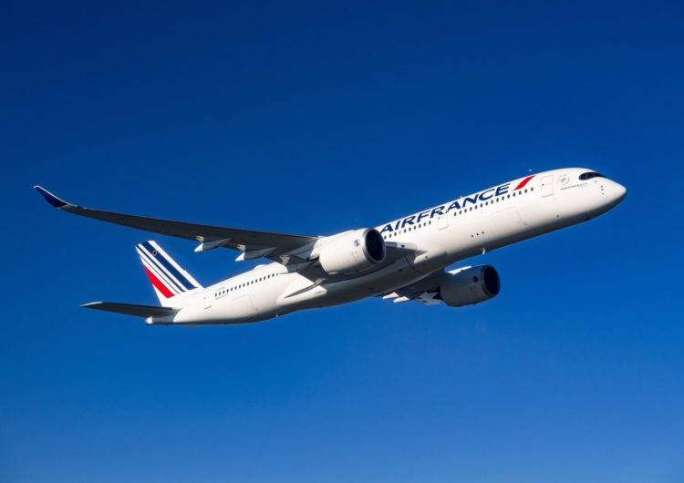 Air France Flies the A350 to Toronto