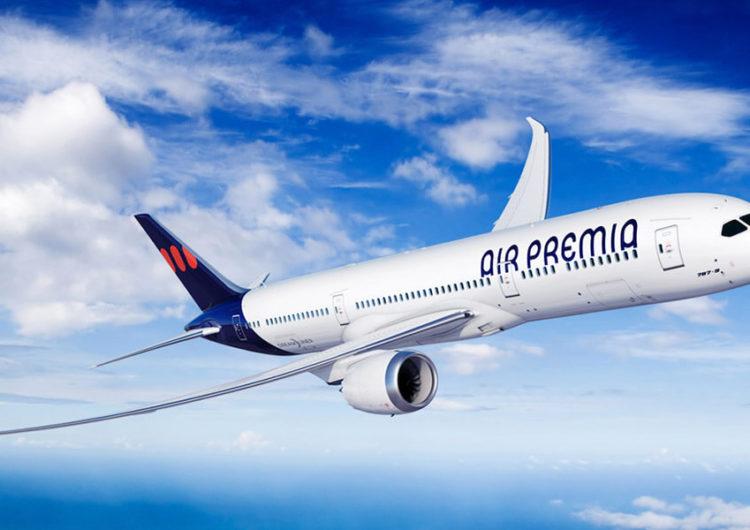 Air Premia anuncia un compromiso de compra de cinco aviones Boeing 787 Dreamliner