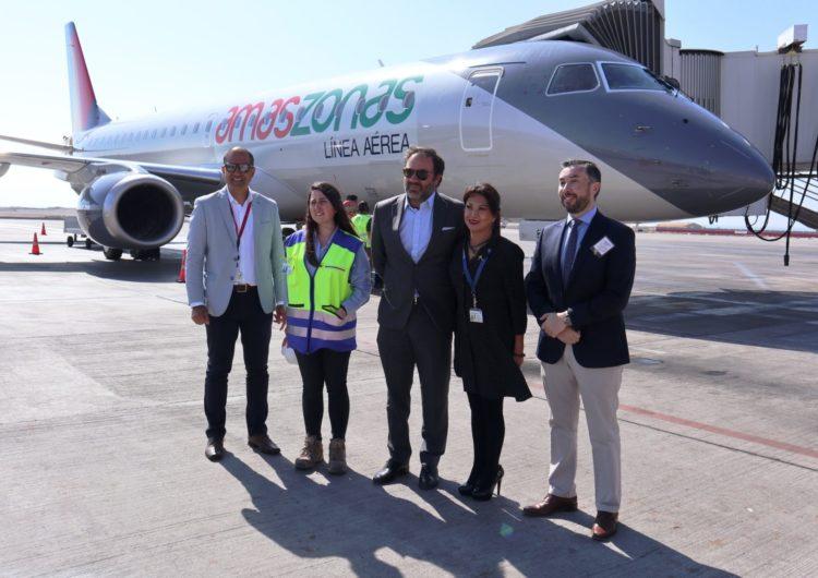 Chile: Aerolínea presentó avión y anunció posible viaje que uniría a Iquique con Río de Janeiro