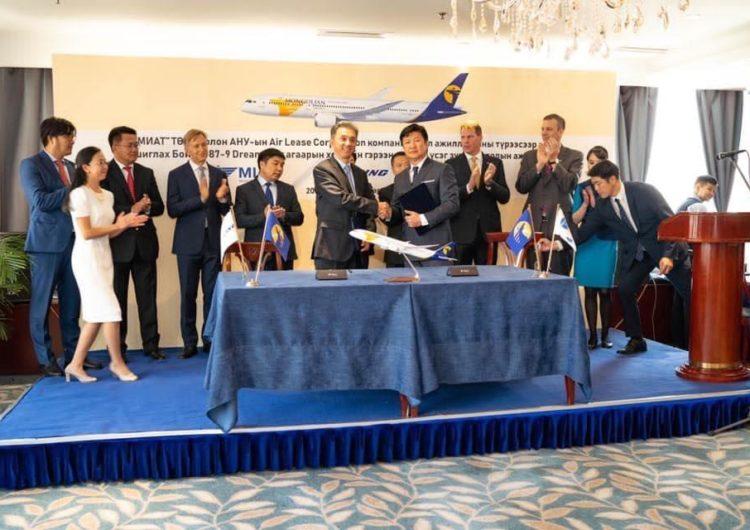 Mongolian Airlines recibirá su primer 787-9