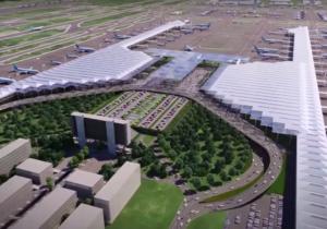 México: Construcción del Aeropuerto de Santa Lucía avanza con montaje de terminal de pasajeros