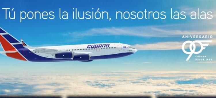 Cubana de Aviación celebró 90 años desde su fundación