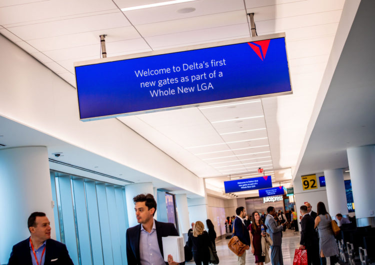 El aeropuerto de LaGuardia abre la nueva terminal de Delta