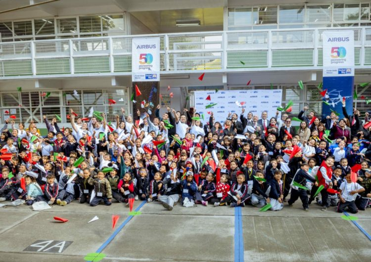 Airbus Foundation lanza Flying Challenge en México