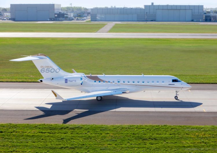 Los aviones comerciales Global 5500 y 6500 de Bombardier obtienen la certificación de la EASA