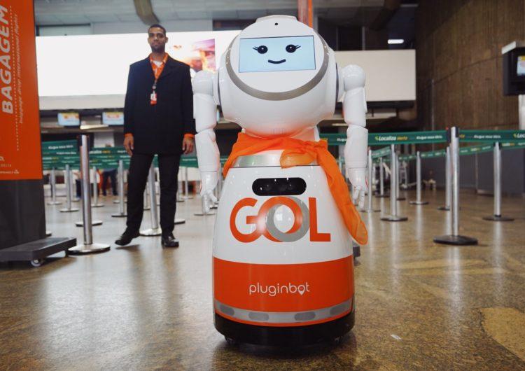 Gol lança primeira robô de atendimento da América Latina