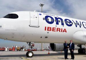 Iberia presenta nuevo A320neo con motivo del 20 aniversario de OneWorld