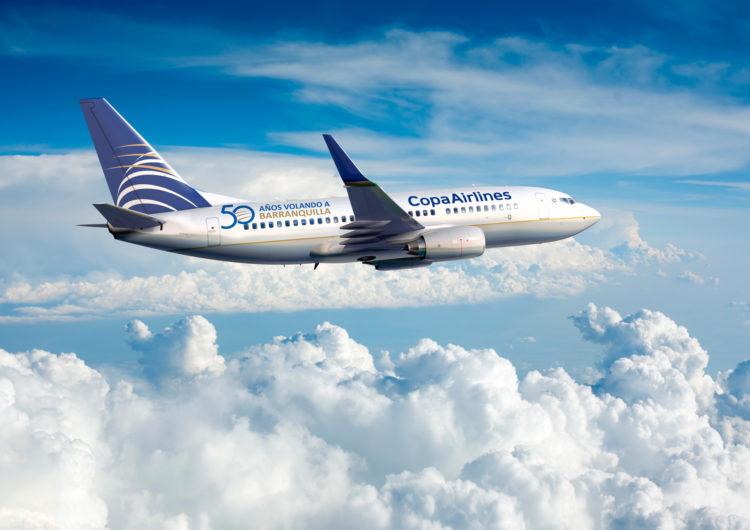 Copa Airlines celebra 50 años conectando a Barranquilla y Colombia con destinos internacionales