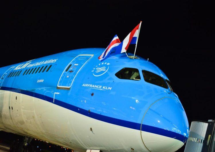 Aerolínea holandesa KLM llega por primera vez a Liberia