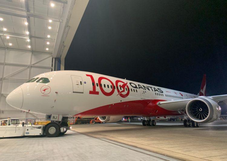 Qantas celebra su centenario con una nueva librea