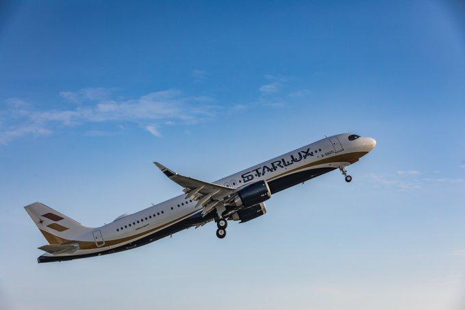 Starlux recibe su primer A321neo, listo para despegar en 2020