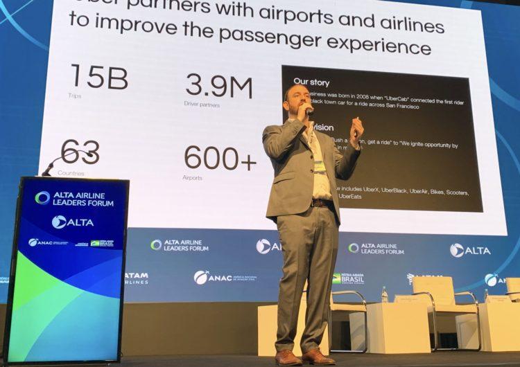 Uber aprimora experiência de passageiros nos aeroportos