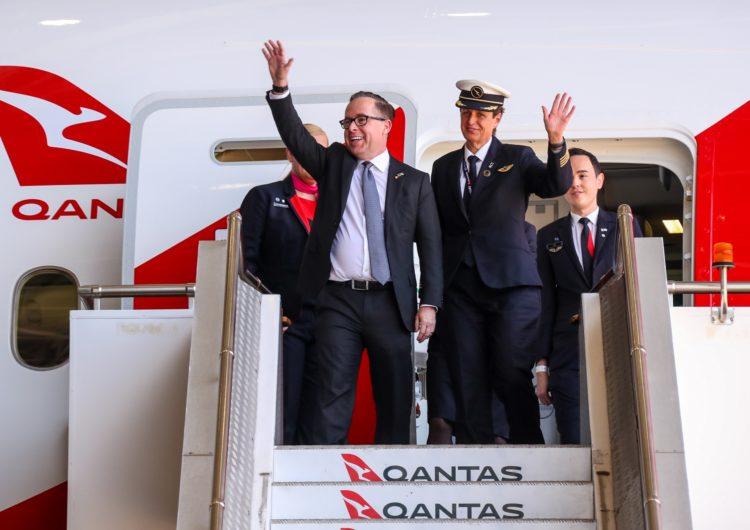 Qantas inicia su centenario completando un vuelo sin escalas entre Londres y Sidney