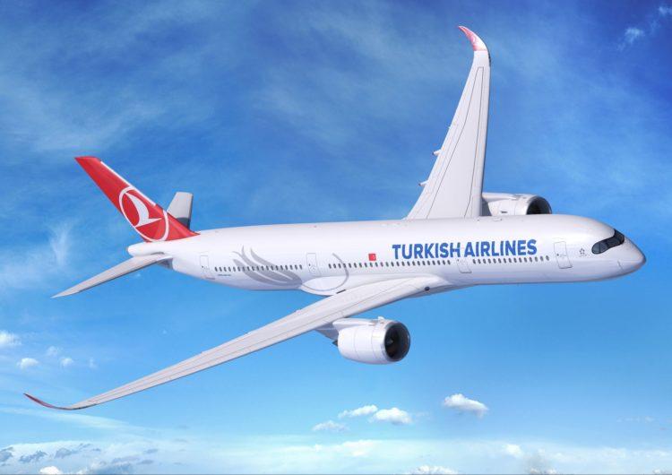 Turkish coloca A350-900 nos voos entre Guarulhos e Istambul